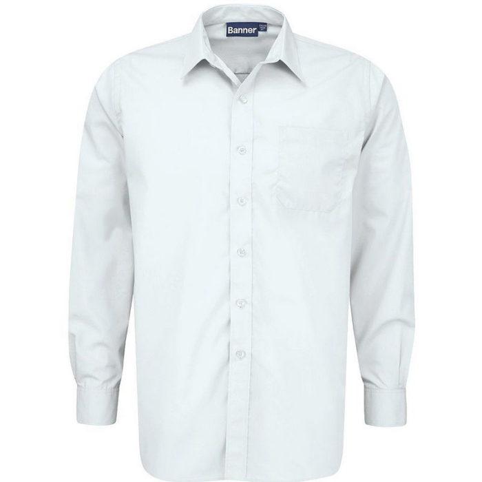 Long Sleeve Shirts 2-Pack (White)
