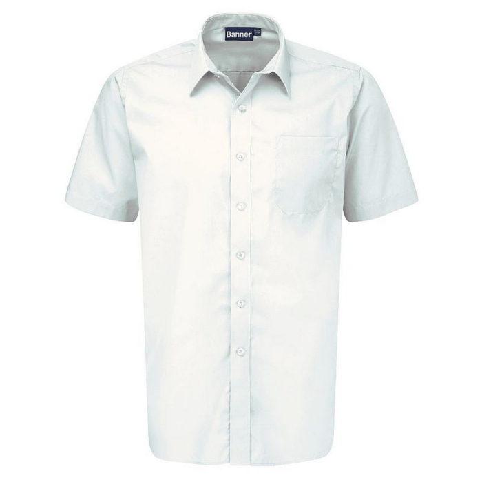 Short Sleeve Shirts 2-Pack (White)
