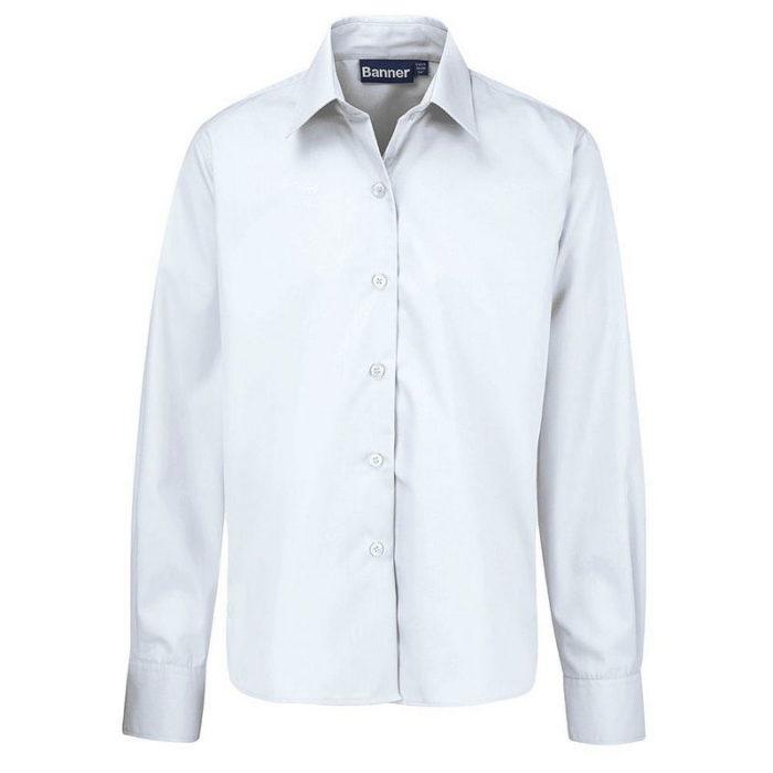 Long Sleeve Blouse 2-Pack (White)