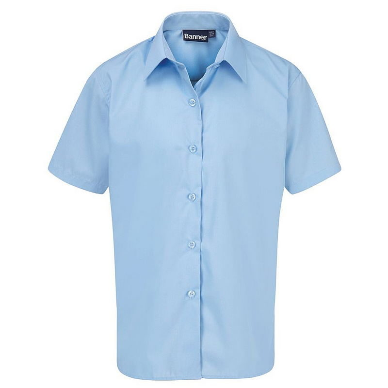 Short Sleeve Blouse 2-Pack (Blue)