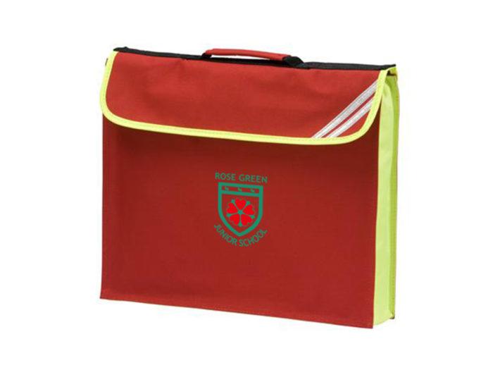 Rose Green Book Bag