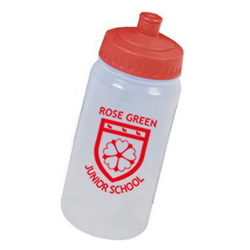Rose Green Water Bottle