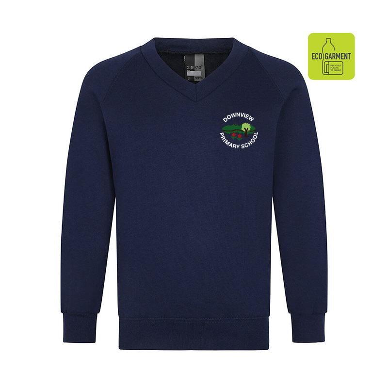 Downview Primary V-Neck Sweatshirt