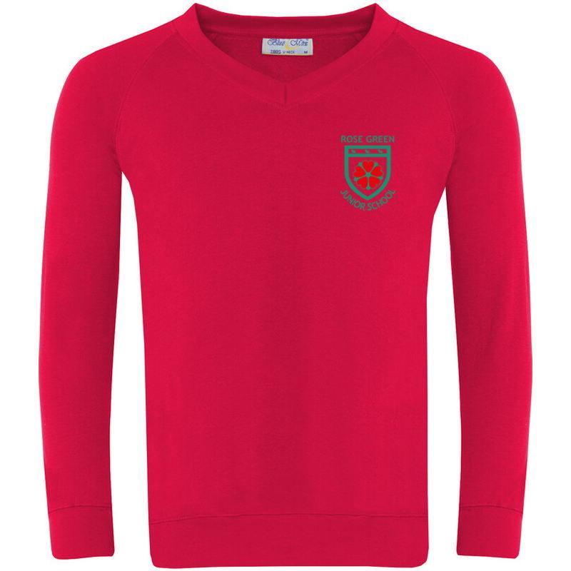 Rose Green Sweatshirt