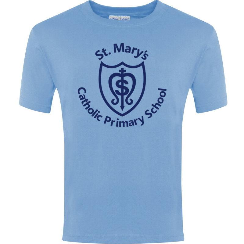 St Mary's KS1 PE T-Shirt