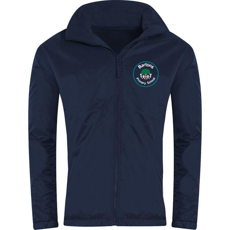 Bartons Primary Reversible Fleece Jacket