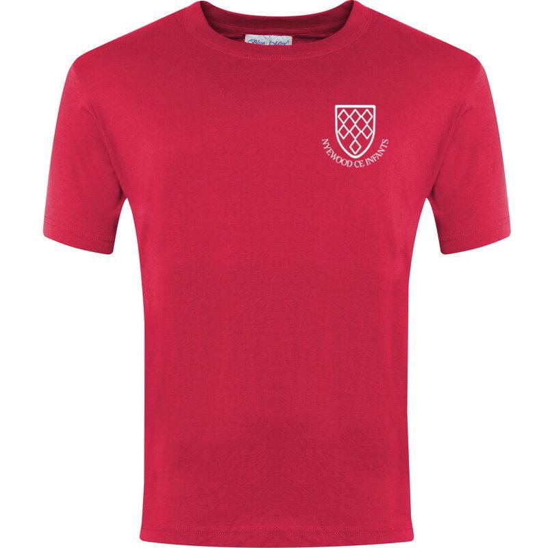Nyewood C.E Infant School PE T-Shirt