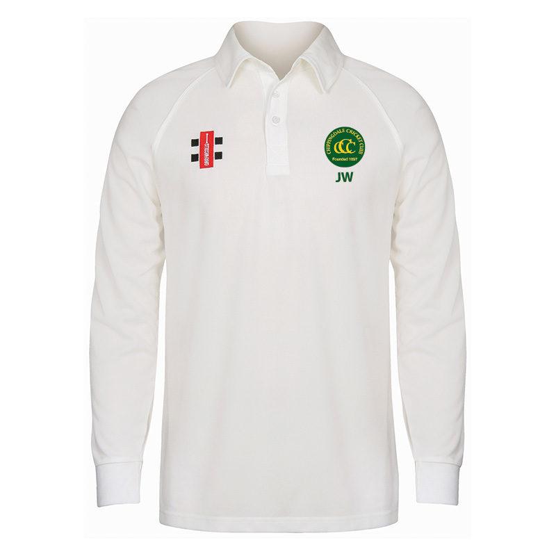 Chippingdale Matrix Long Sleeve Match Shirt JNR