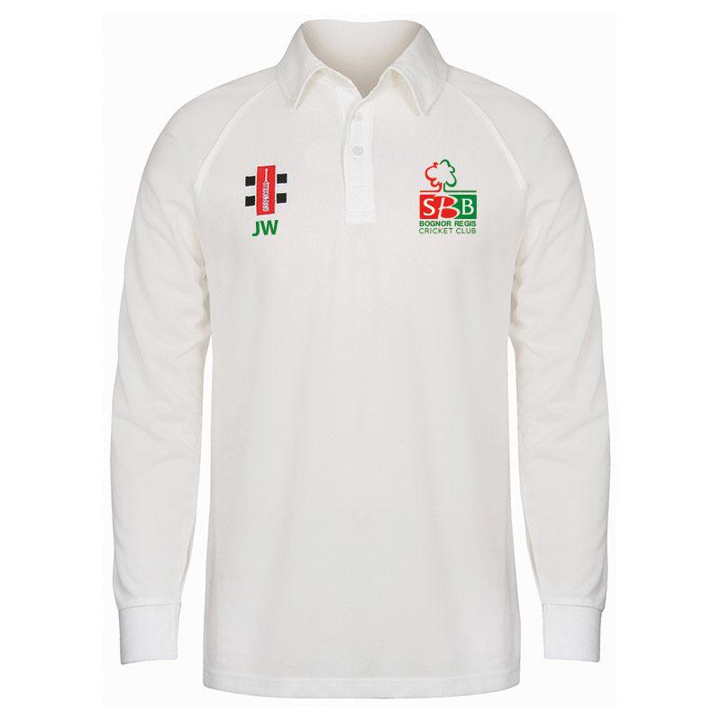 Bognor CC Matrix Long Sleeve Match Shirt JNR