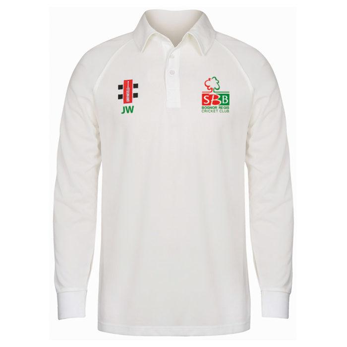 Bognor CC Matrix Long Sleeve Match Shirt SNR