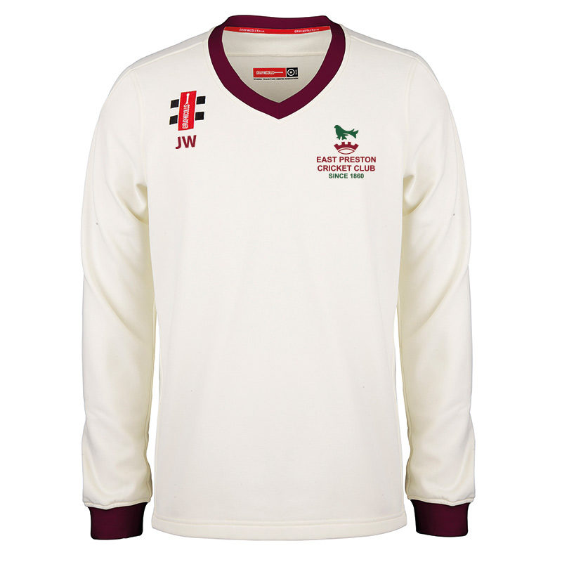 East Preston Pro Performance Long Sleeve Match Sweater JNR