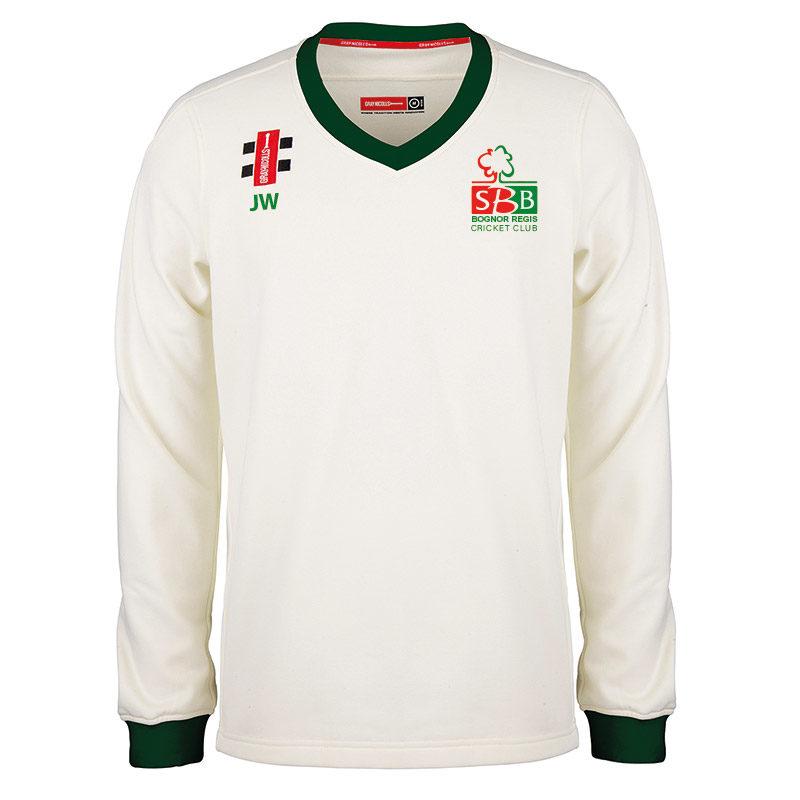 Bognor CC Pro Performance Long Sleeve Match Sweater JNR