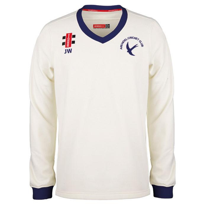 Arundel Pro Performance Long Sleeve Match Sweater JNR
