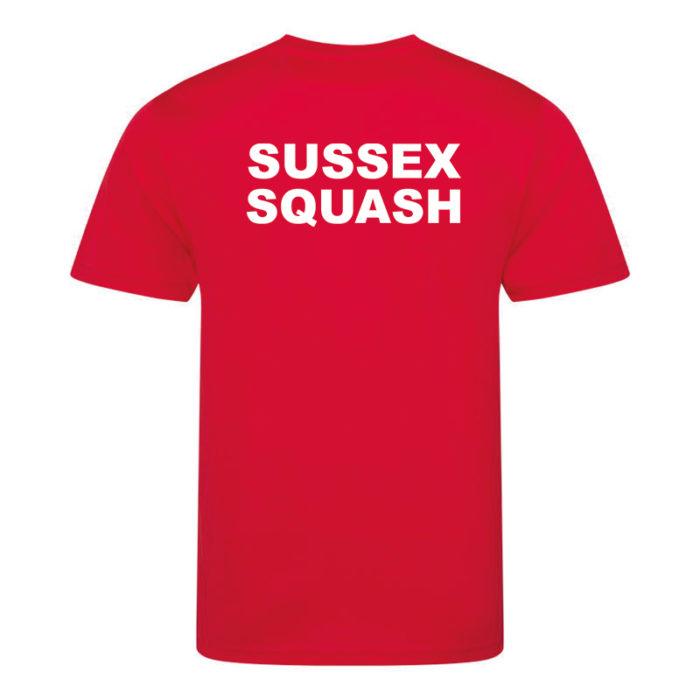 Sussex Squash Junior Section Tee
