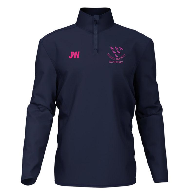 Sussex Unisex  Playerlayer Quarter Zip Jacket