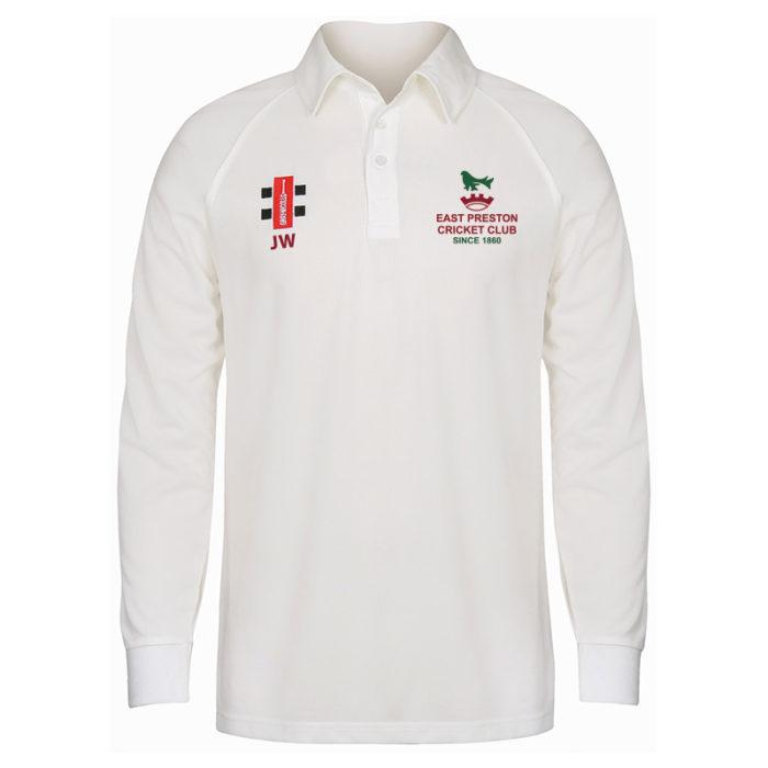 East Preston Long Sleeve Matrix Match Shirt SNR
