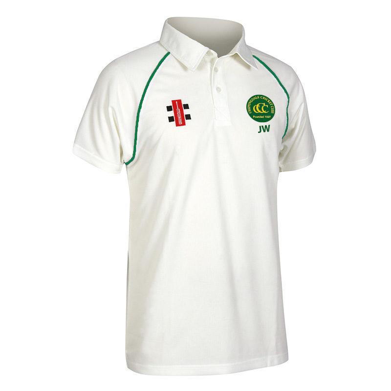 Chippingdale Matrix Short Sleeve Match Shirt JNR